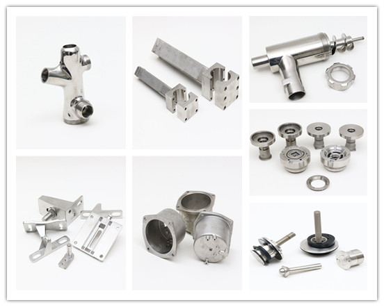 Stainless Steel Precision CNC Machining Parts by China Factory