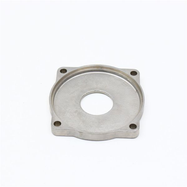 Precision machining motor cover