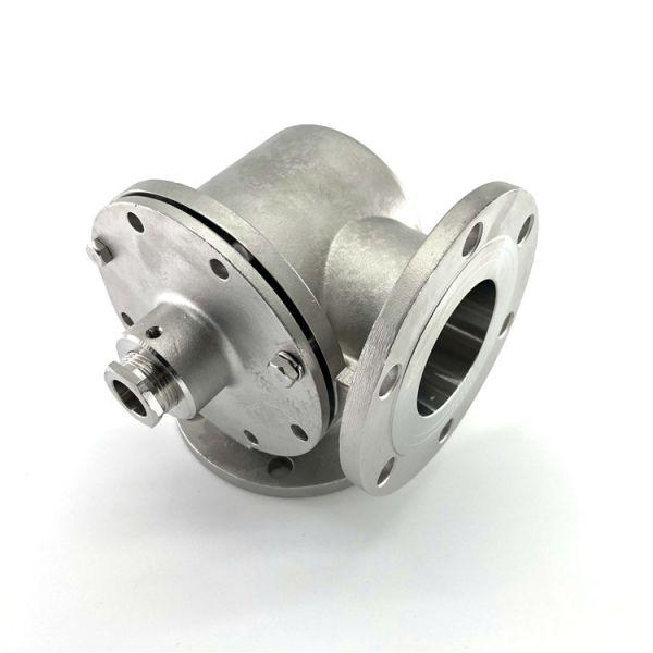 Precision machining casting valve part