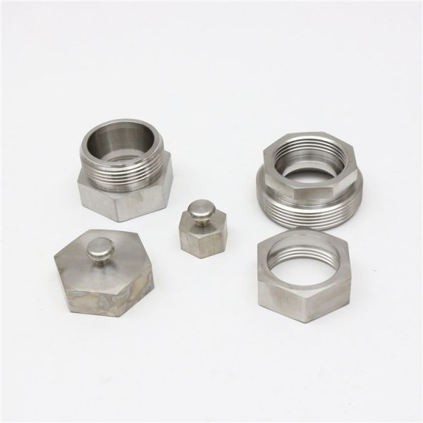 CNC Machining Stainless Steel Union Joint